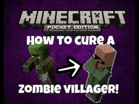 [0.15.X] How to cure a zombie villager in MCPE!
