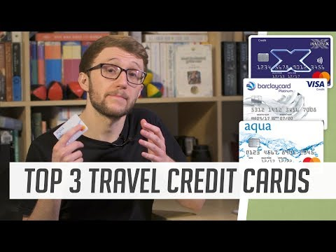 TOP 3 TRAVEL CREDIT CARDS COMPARED