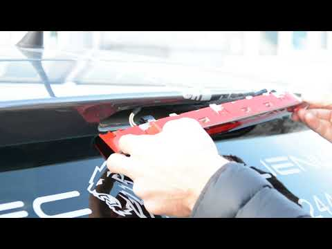 How to remove the third light brake VW Polo 6r