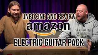 Honest Unboxing and Review of a $139 Best-Selling Amazon Electric Guitar Pack | Guitar Buyer's Guide