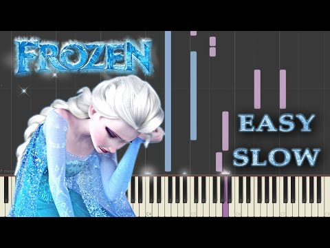 Frozen - Do You Want to Build a Snowman (Piano Tutorial - Synthesia) / Easy Slow + Sheets