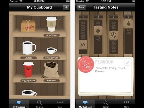 Coffee Cellar for iPhone