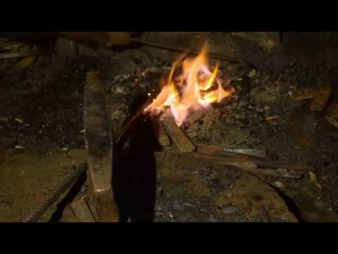Blacksmith Made Power Tiller Blade from Iron rods How They Do It