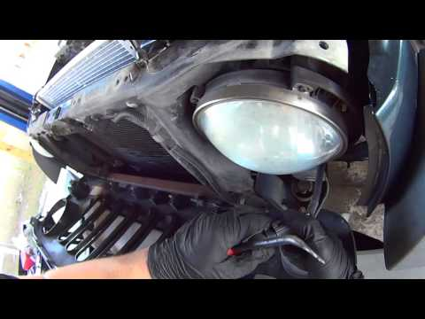 How to Replace Radiator on Jeep Wrangler Unlimited JK and JKU with 3.8L V6