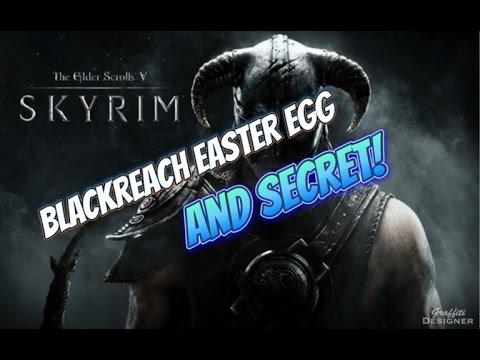 Blackreach Easter egg Secret in Skyrim Remastered Edition!