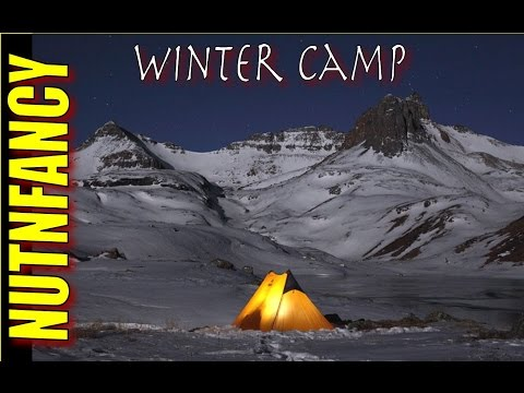 How Not To Suck At Winter Camping