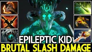 EPILEPTIC KID [Juggernaut] Brutal Slash Damage Monster Late Game Dota 2