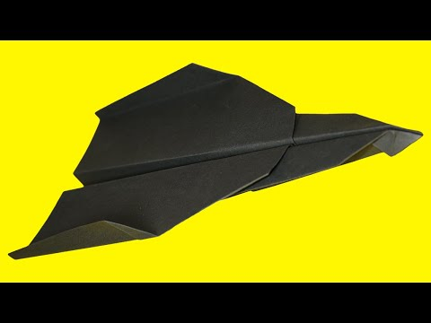 Paper planes that FLY FAR - How to make a origami paper plane - BEST paper airplanes . David