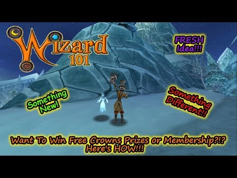 Wizard101 Forget Giveaways, Want To Earn Free Crowns or Membership?