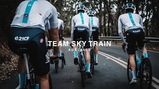 CATCHING THE TEAM SKY TRAIN