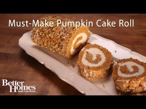 Must-Make Pumpkin Cake Roll