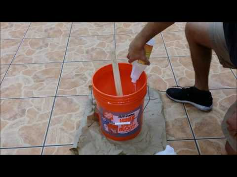 How to Mix GlazeGuard Sealer for Ceramic and Porcelain Tile