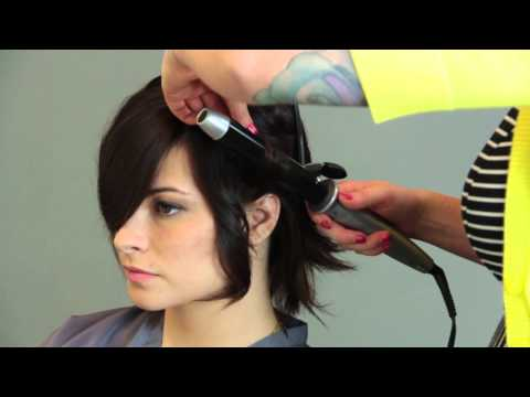 How to Style a Stacked Wedge Haircut : Hair Care & Color