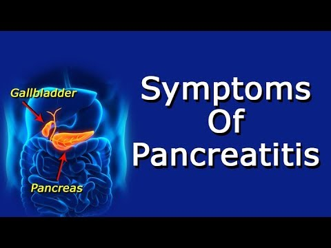 What Are The Symptoms Of Pancreatitis?