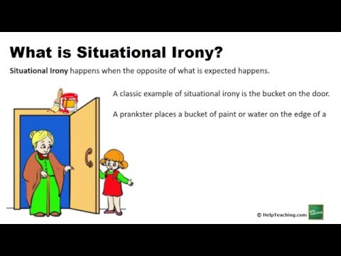 Reading Lesson: Situational Irony