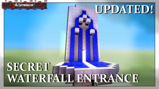 Hidden Secret Waterfall Entrance Brand New Design Xbox Ps3 Pc