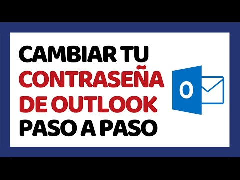 Cómo Cambiar la Contraseña de Outlook 2018 (Hotmail) | Cómo Usar Outlook 2018