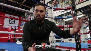 JOSEPH PARKER & KEVIN BARRY TELL THE STORY OF MEETING & FIGHTING FRANCOIS BOTHA IN 5TH PRO FIGHT