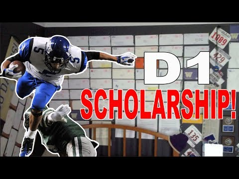 How I Got My D1 Scholarship