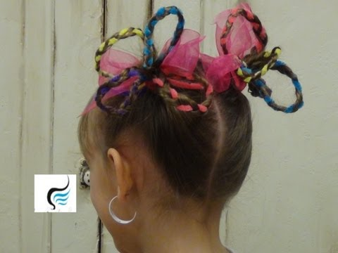 (Seuss Hair) Crazy Hair Pigtails for Girls Hairstyles