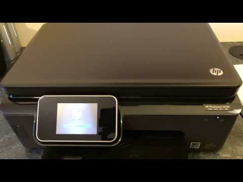 HP Photosmart 6520 Printer - Unboxing & setup