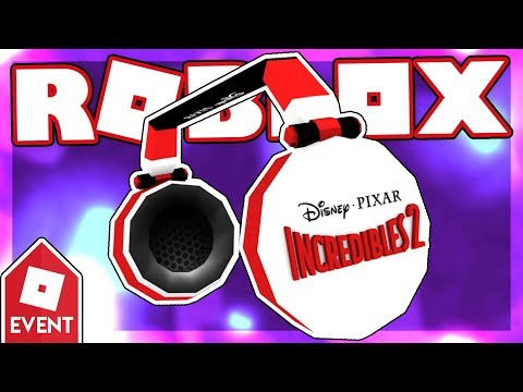 [EVENT] How to get the INCREDIBLES 2 HEADPHONES | Roblox Heroes