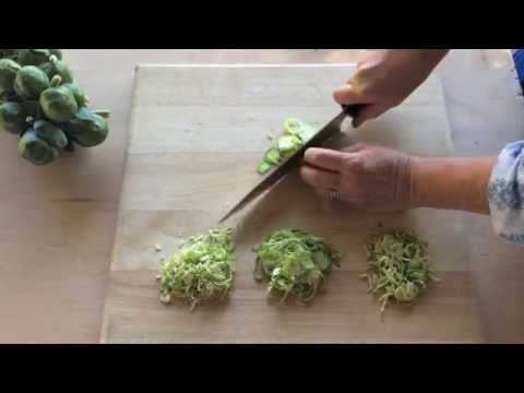 How To Shave A Brussels Sprout | Sunset
