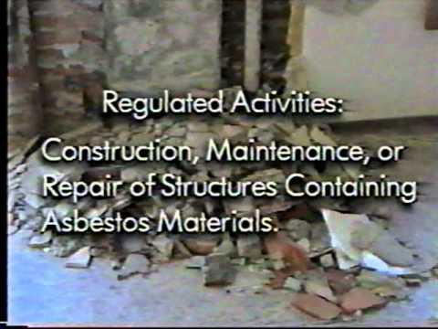 Asbestos Awareness Safety Training