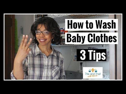 How to Wash Baby Clothes 3 Tips    Persil Challenge