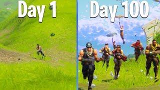 100 DAYS OF FORTNITE (Battle Royale