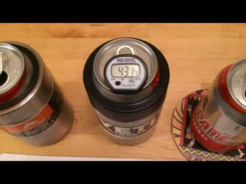 Yeti Can Cooler vs. Walmart Can Cooler Comparison Test