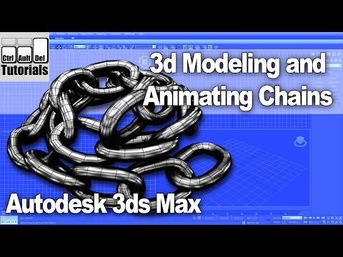 Creating Animated Chains in 3dsMax