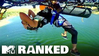 7 'Fear Factor' Challenges That'll Give You Vertigo 😰 MTV Ranked