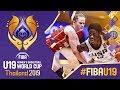 USA V Hungary Full Game FIBA U19 Womens Basketball World Cup 2019