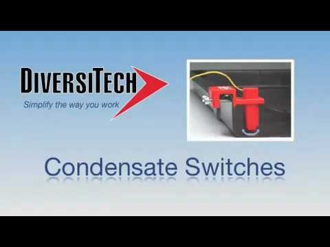 DiversiTech Condensate Switches - Condensate Cop, Wet Switch, Safety Overflow Switch
