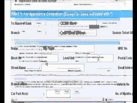 Make Payment using GIRO for Renewal of Season Parking Ticket