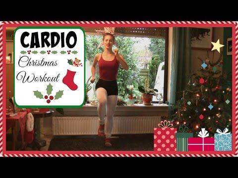 10 Minutes of Intense Cardio to Burn Xmas Fat //Christmas Edition