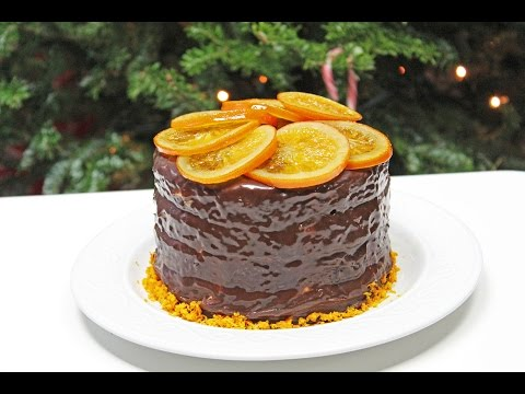 Chocolate Orange Cake | How to make Chocolate Frosting