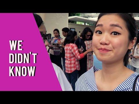 WE DIDN'T KNOW! (Universal Studios Singapore)