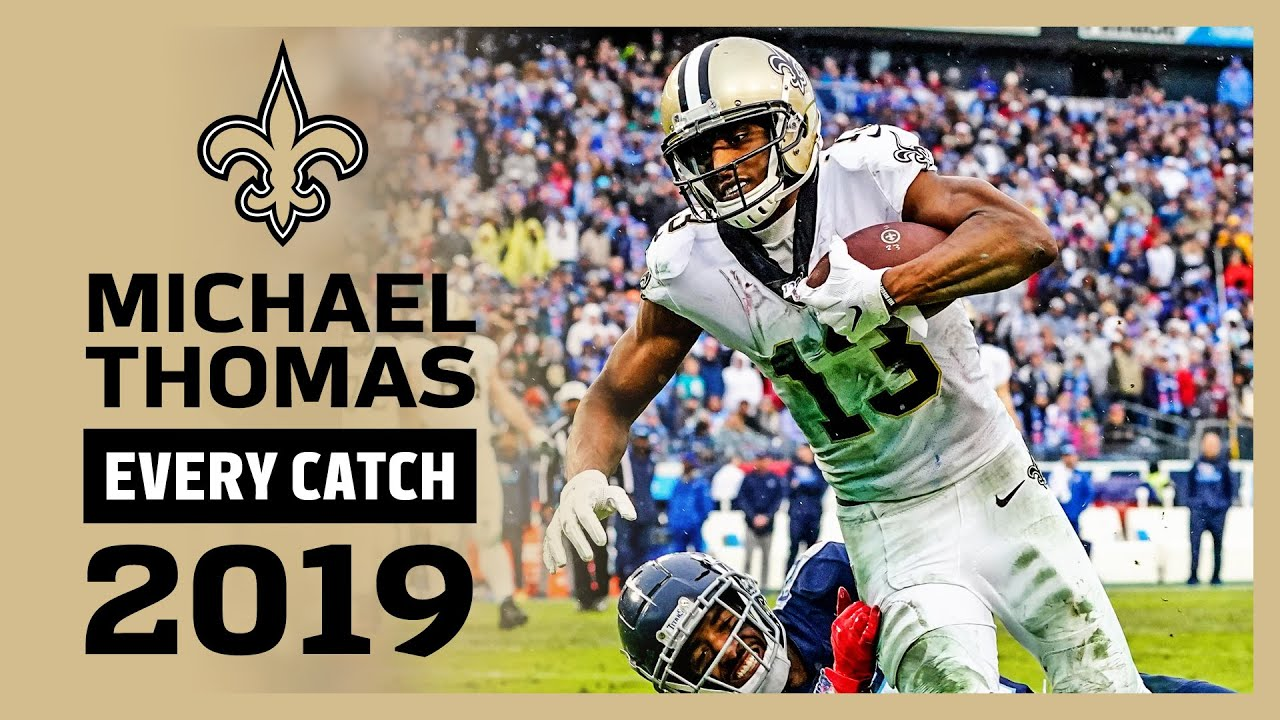 Michael Thomas Highlights: Every Catch 2019 | New Orleans Saints