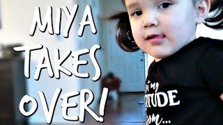 MIYA TAKES OVER! - March 18, 2017 - ItsJudysLife Vlogs