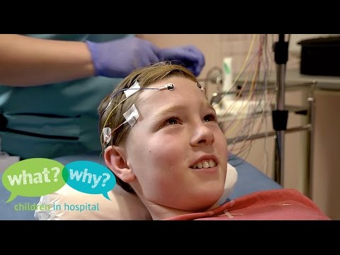 What happens when my child has an EEG?