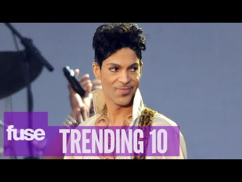 Prince Joins Twitter & Posts First Tweets - Trending 10 (8/14/13)
