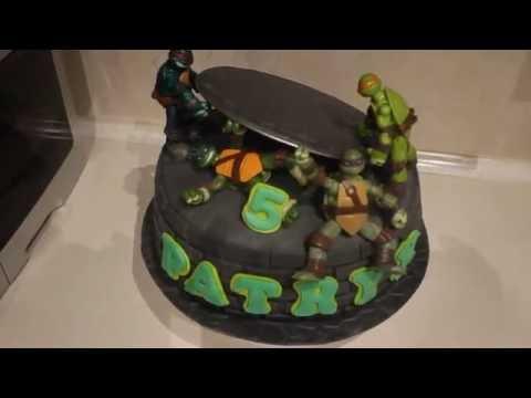 How to make a ninja turtles cake ? Jak zrobic tort wojownicze zolwie ninja.