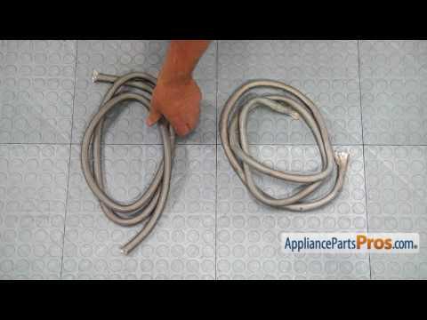 Range Oven Door Gasket (Part #WB04T10001) - How To Replace