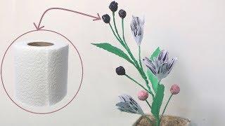 Diy paper crafts tutorials videos by diy paper crafts tutorials how to make toilet tissue paper flower toilet paper flowers diy mightylinksfo