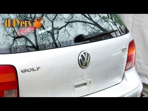 DIY: Volkswagen Golf MK4 Hatch Emblem Removal