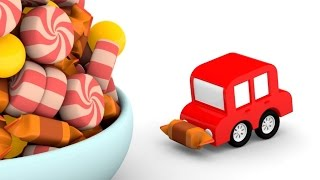 Lehrreicher Zeichentrickfilm Die 4 Kleinen Autos Ein Tag Bei Der