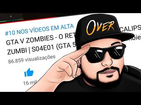 GTA V ZOMBIES batendo RECORDES e NOVAS REGRAS da série