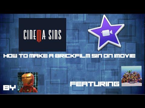 How To Make A Cinema/Brickfilm Sin on iMovie
